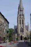 Mariacka Church n the city of Katowice Royalty Free Stock Photography