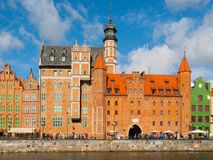 Mariacka gate in Gdansk Royalty Free Stock Images