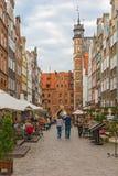 Mariacka street in Gdansk, Poland. Stock Photography