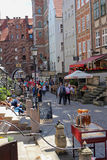 Mariacka Street - very popular and charming street in Gdansk, Poland Stock Photos