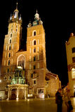 Mariacki cathedral, Krakow Stock Photography