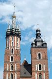 The Mariacki church Stock Images