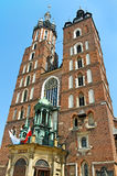 Mariacki church. Royalty Free Stock Photos