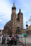 Mariacki Church. Old centre of ity - Cracow - Poland - mariacki church Royalty Free Stock Photography
