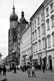 Mariacki Church in Cracow Royalty Free Stock Image