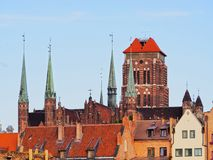 Mariacki Church in Gdansk, Poland Royalty Free Stock Photography