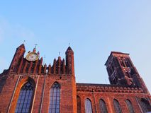 Mariacki Church in Gdansk, Poland Stock Photos