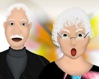 Mariage à long terme Illustration Libre de Droits