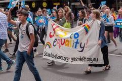 Mariage égalité en octobre 2017 Photographie stock
