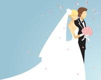 Mariage illustration stock