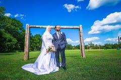 Mariage algérien et canadien Photos stock