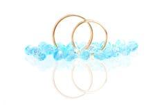 Mariage bleu images stock