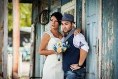 Mariage, chapeau, style, vieux Photo libre de droits