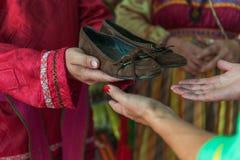 Mariage démodé russe Photo libre de droits
