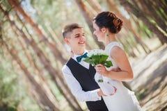 Mariage d'amour Image libre de droits