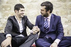 Mariage d'amour d'hommes Image stock