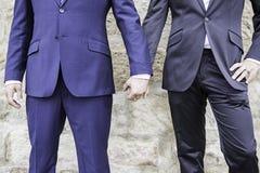 Mariage d'amour d'hommes Photos stock