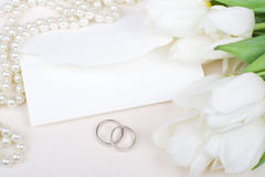 mariage d'invitation images stock