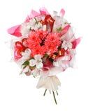 mariage d'isolement par bouquet Photographie stock libre de droits