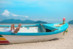 Mariage d'île Photos libres de droits