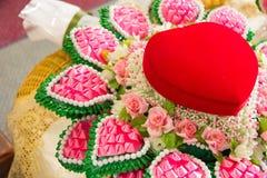 Mariage de coeur Photographie stock libre de droits
