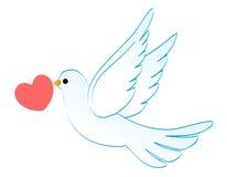 mariage de colombe Photographie stock libre de droits