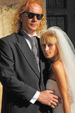 Mariage de commodité Image libre de droits