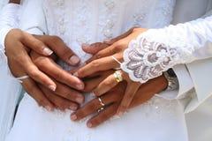 mariage de couples photo stock