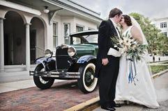 Mariage de cru Photos stock