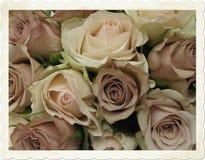 mariage de cru de bouquet Photographie stock libre de droits