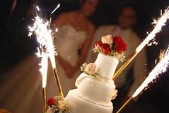 mariage de gâteau Image stock