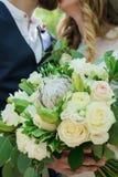 Mariage de jeunes mariés dans le park-2 Photo stock