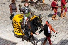 Mariage de Landshut Images libres de droits