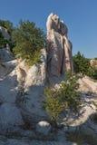 Mariage de pierre de phénomène de roche de vue panoramique, Bulgarie photo stock