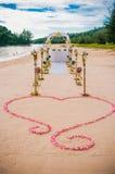 Mariage de plage Image stock