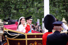 Mariage de prince William et de Catherine Image stock