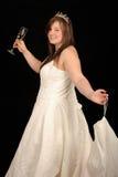mariage de robe de fille Photos stock