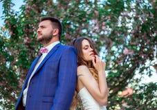 Mariage de style de Boho Photographie stock