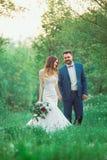 Mariage de style de Boho Photo libre de droits