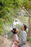 mariage de verticale Images libres de droits