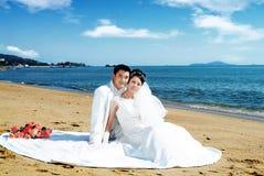 mariage de verticale Photos stock