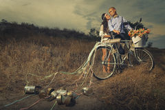 Mariage de vintage Images libres de droits