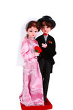 Mariage des figures Photographie stock libre de droits