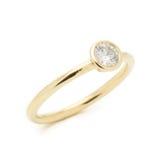 Mariage Diamond Ring Photographie stock