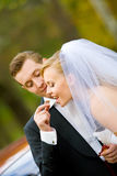 Mariage doux Images stock