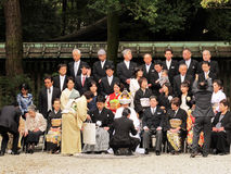 Mariage du Japon Photo stock