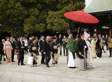 Mariage du Japon Image libre de droits