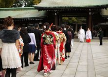 Mariage du Japon Photos stock