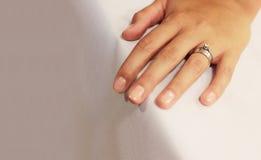 Mariage et boucle de fiançailles Image libre de droits