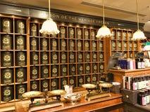 Mariage Frères法国食家茶 免版税库存图片